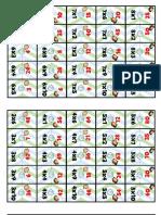 Domino de Las Multiplicaciones
