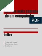Avarias Comuns Num Computador