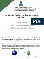 Aula 2 - Geometria das Órbitas (Leis de Keppler).pdf