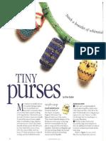 Bead & Button - Tiny Purses