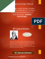 TERORIA EVOLUCION - LAMARK