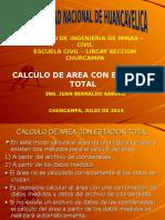 Calculo de Area Con Estacion Total
