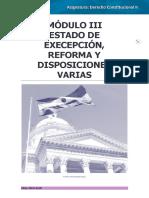 Derecho Constitucional II MOD III