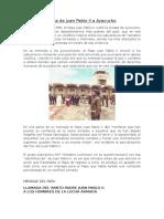 Visita de Juan Pablo II a Ayacucho