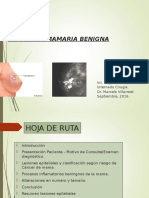 Patologia Mamaria Benigna a. Barrientos