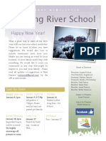 Running River School January 2017 Newsletter