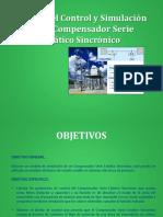 Diseno Del Control y Simulacion Compensador Serie Estatico Sincronico