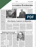 IlQuotidiano - Uova Contro Il Rettorato UNICAL