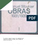 Mounier, Emmanuel - El Pensamiento de Charles Péguy