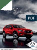 2015 Mazda CX5 Smart Start Guide