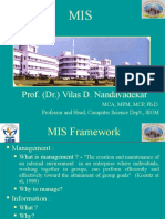 MIS Framework Intro