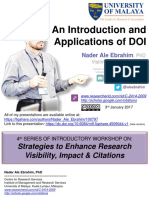 An Introduction and Applications of DOI