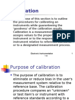 7 Calibration