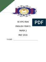 English Year 3 p2