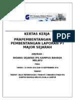 Documentskertas-kerja PRAPEMBENTANGAN PT2016