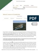 Ashoura _ Ashura_ Lessons of Leadership