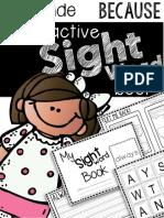 2nd Grade Sight Words - Because