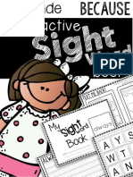2nd Grade Sight Words - Because