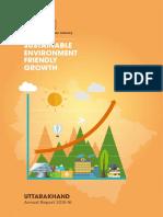 Uttarakhand Annual Report 2015-16