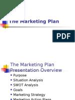 Marketing Plan Details