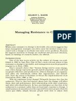 Change Management Baker5361