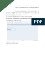 Avisos y Ordenes SAP