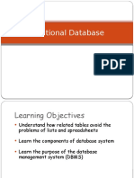 Lecture 2 Relational DB