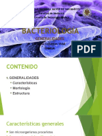 Generalidades en bacteriología