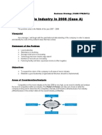 CASE 2- The Movie Industry in 2008