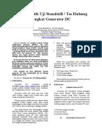 Makalah Karakteristik Generator Tes Hubung Singkat Generator DC_Tata Firmansyah LT2D-21