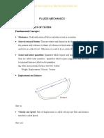 Unit 1 Properties of Fluids