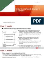 LTE PRACH Optimization(eNodeB Cluster 1) Preliminary Report  04272015.pptx