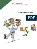 Plan de Marketing - Deschiderea Unui Restaurant
