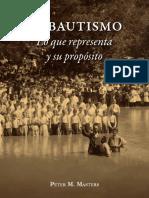 El Bautismo-Peter M. Masters