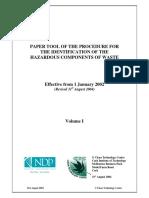 EPA Hazardous Waste Identification Procedure