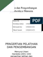 Kelompk 5 - Pelatihan dan Pengembangan SDM.pptx