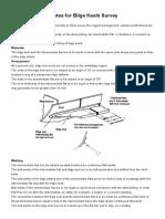 Marine Survey Practice_ Surveyor Guide Notes for Bilge Keels Survey
