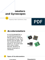 Accelerometers and Gyroscopes