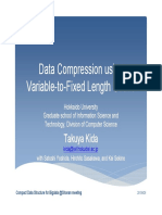 Kida Data Compression Using Variable-To-Fixed Length Codes