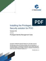Privileged Account Security Installation - POC