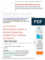 50 TOP MOST Electromagnetic Induction - Electrical Engineering Multiple Choice Questions and Answers Electrical Engineering Multiple Choice Questions.pdf