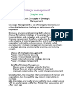 Srategic Management