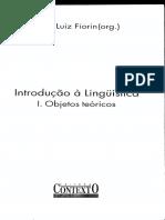 Linguagem, Língua e Linguística. Petter