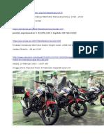 BPS Update, 09 Feb 2016 - Perkembangan Jumlah Kendaraan Bermotor Menurut Jenis, 1949-2014 (Dari Web Lain)