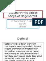 Osteoarthritis Kuliah Mhsw 2014 Okt