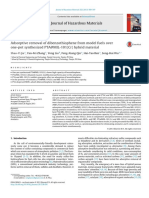 Adsorptive Removal of Dibenzothiophene From Model Fuels