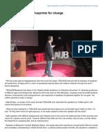 Outlookaub.com-TEDxAUB Provides Blueprints for Change