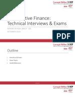 Quant Interview and Exam Prep