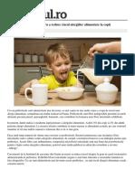 Prebioticele Solutie Reduce Risculalergiilor Alimentare Copii