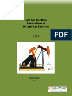 Code for Electrical Installations at Oil and Gas Facilities-2015 4Ed
